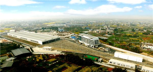 成都地铁4号线二期工程西河停车场