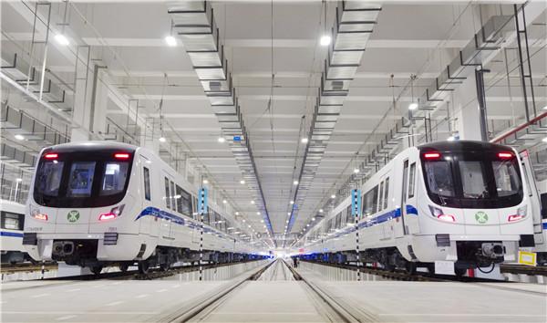 深圳地铁7号线深云车辆段