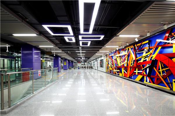 深圳地铁7号线皇岗村站
